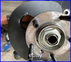 Bremsbelüftungsset passend für BMW E36 Bremskühlkanal Motorsport 60mm Komplettse