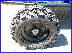 Fast kid mini shifter kart race kit track cart Baja black blue air filled tires