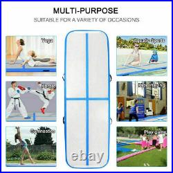 Fbsport 20CM Air Mat Track Aufblasbar Tumbling Gymnastikmatte Air Matte +Pumpe