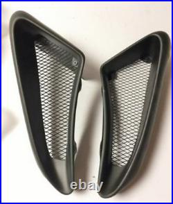 For Porsche Cayman Boxster 987 Track Version FRP Unpainted Side Air Vents Scoop