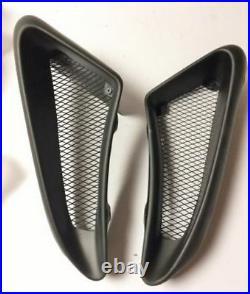 For Porsche Cayman Boxster 987 Track Version Fiberglass FRP Side Air Vents Scoop