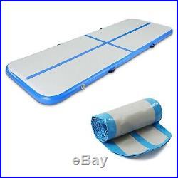 Gymnastics Mat, Airtracks Inflatable Air Track, Tumbling Floor Yoga Gym Exercise