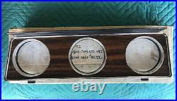 NOS Gm 1972 Oldsmobile Cutlass 442 W30 Hurst Olds dash gauge cluster bezel trim