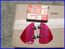 NOS Vintage Original Rowse Accessory Wind Breezies Air Deflectors GM wing window