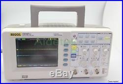Newest RIGOL DS1072U 70Mhz Oscilloscope 500MSa/s FFT warranty air shipping track