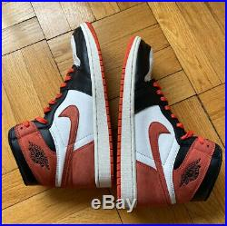 Nike Air Jordan 1 Retro High OG Track Red Mens Size 10.5