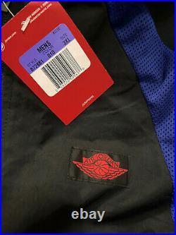 Nike Air Jordan 1 Track Suit Jacket Wings Royal Blue Men's 3XL 872861-010 NEW