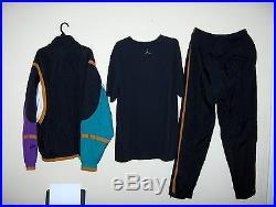 Nike Air Jordan 7 VII OG Hare, Fresh Prince Vintage sweat suit track sz. XL