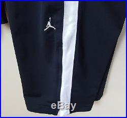 Nike Air Jordan Basketball Track Suit Jacket + Pants Black White Rare (2xl 3xl)