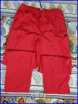 Nike Air Vintage Michael Jordan 5 V Infrared Tracksuit Track Jacket Pants Sz XL