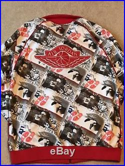 RARE VINTAGE Nike Air Jordan Retro 1985 Wings Track Jacket Size Mens XL