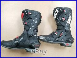 Sidi Vortice Air Motorcycle Track Boots, US 9.5 EU 43