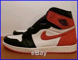 Size 11.5 Nike Air Jordan 1 Retro High OG Track Red best hand Brand NEW bred sbb
