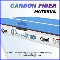 USA Air Track Floor Home Gymnastics Tumbling Mats Inflatable GYM Mat 13/16/20FT
