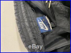 Vintage 80s 1985 Air Jordan 1 Bred Windbreake Track Pants Nike Air Size XL USA