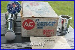Vintage AC Delco GM Tester dealer display gauge Guide auto Chevy