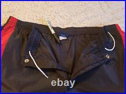 Vintage Nike 1985 Air Jordan 1 Wings Track Pants Blue Tag X-Large Black Red 5045