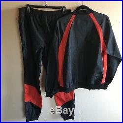 Vintage Nike Air Jordan 1 Wings Track Suit 1984 1985