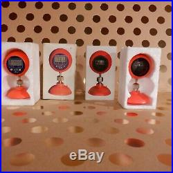 Vintage Nos Lot Union 76 Compass Clock Suction Cup Display Chevy Ford GM Bomber