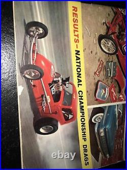 Vintage November 1960 Hot Rod Magazine Impala Customs Bonneville