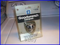 Vintage nos 70s original GM auto Compass gauge Guide Chevy Camaro Chevelle bombs